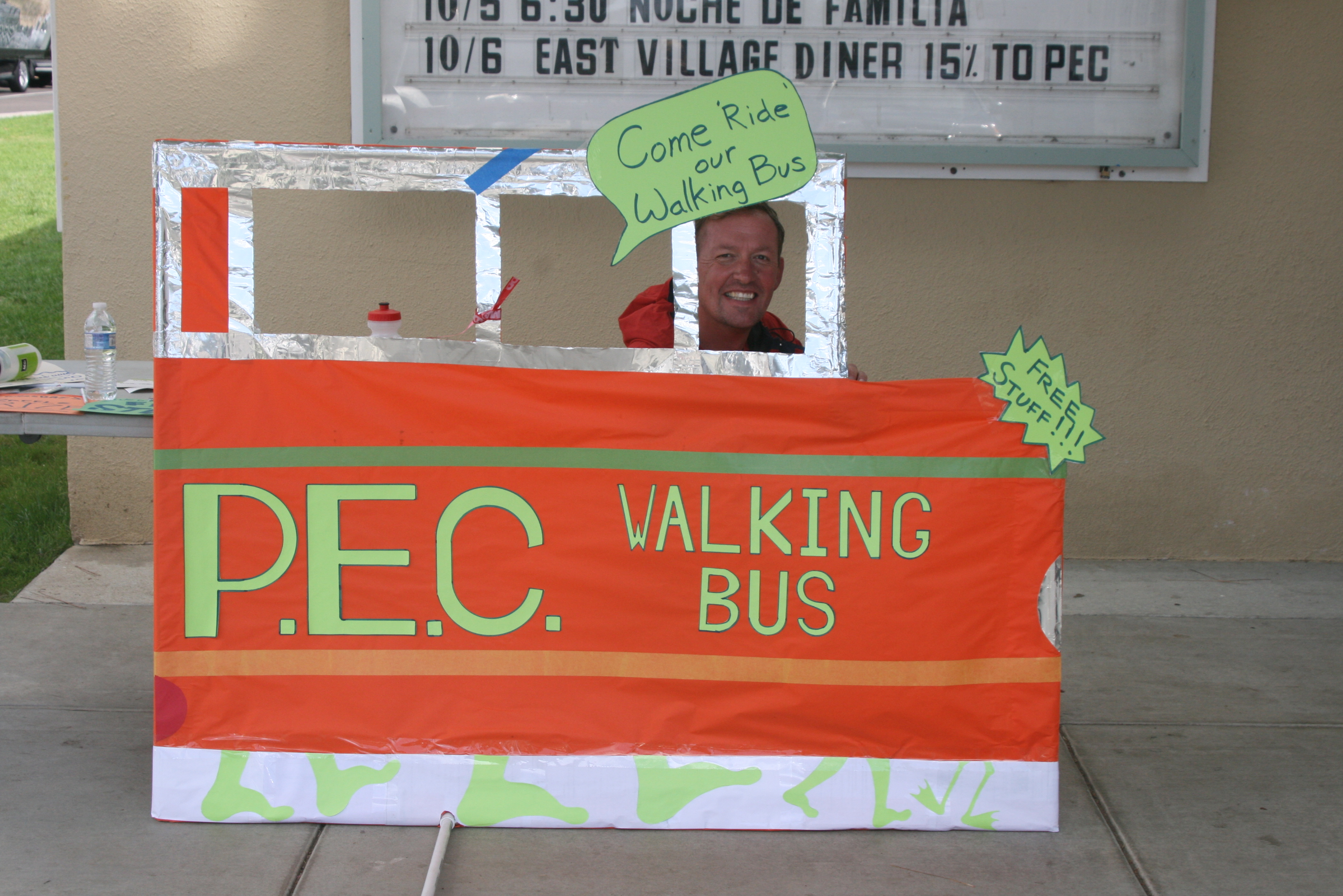PEC Walking Bus is back again!