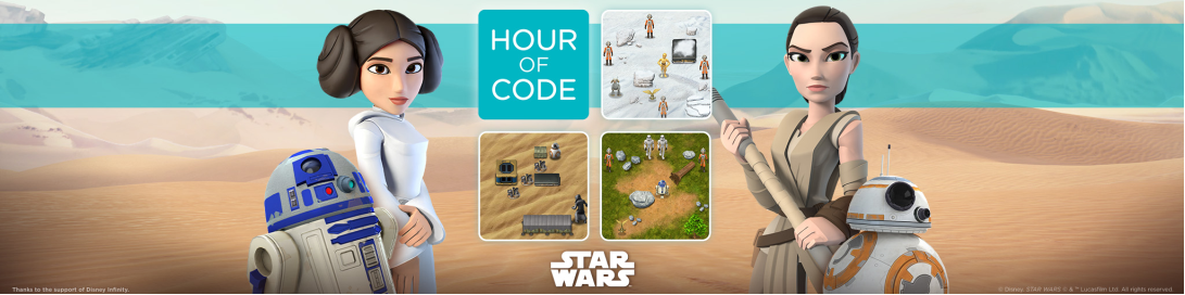 Learn to Code Star Wars Style | Paul Ecke Central – PTA