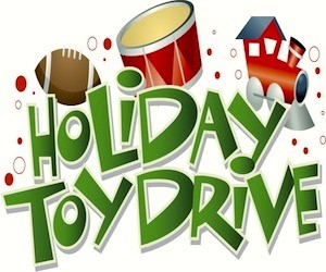 Give to the 4th Annual PEC Toy Drive