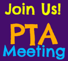 PTA General Meeting Tomorrow Morning – Wednesday, Jan 9th