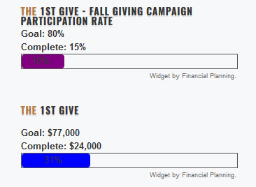 Week #2 – Fall Giving Details