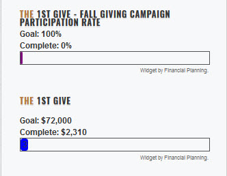 Fall Giving Campaign
