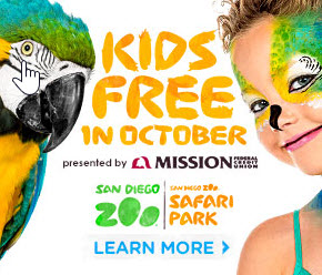 October is Kids Free month at many San Diego attractions