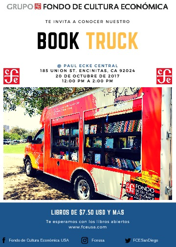 Spanish Book Truck October 20th! | Paul Ecke Central – PTA