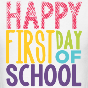1st Day of School – Monday August 20th