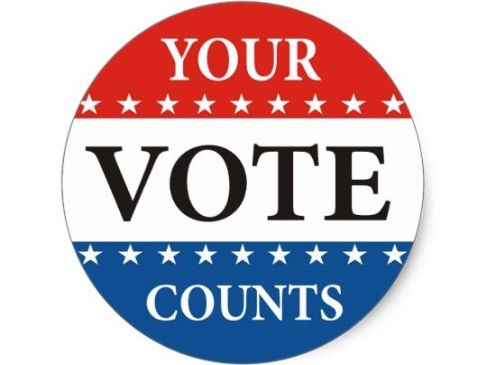 Vote Day – Tuesday, November 13th