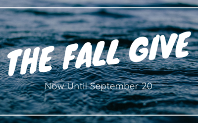Fall Give Ends Sept 20, 2019